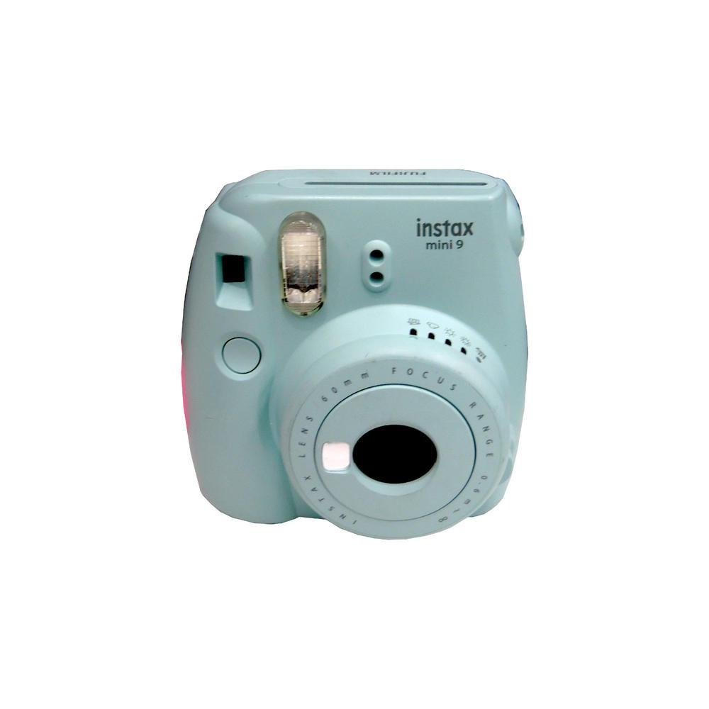 Fujifilm Instax Mini 9 Ice Blue Instant Camera Grade B+