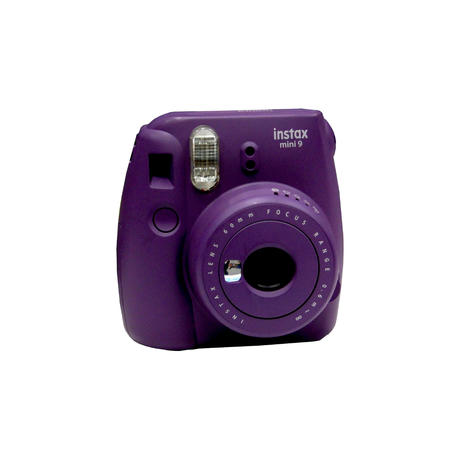 Fujifilm Instax Mini 9 Purple Instant Camera Grade B+