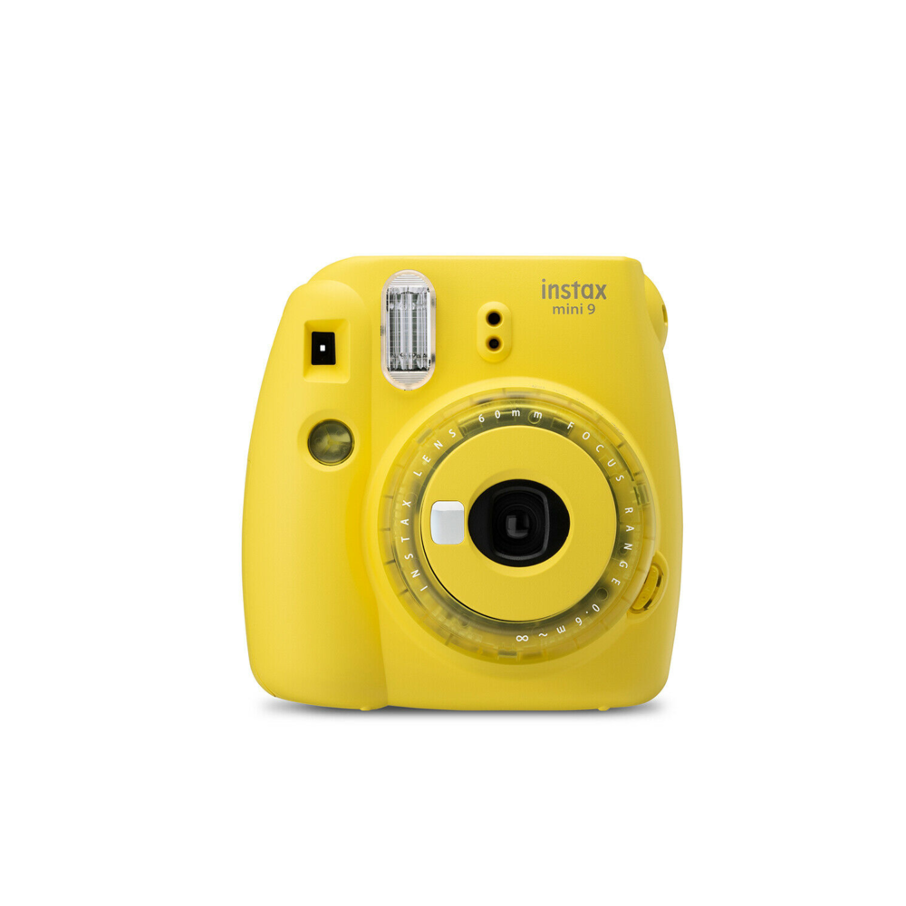 Fujifilm Instax Mini 9 Yellow Instant Camera Grade B+