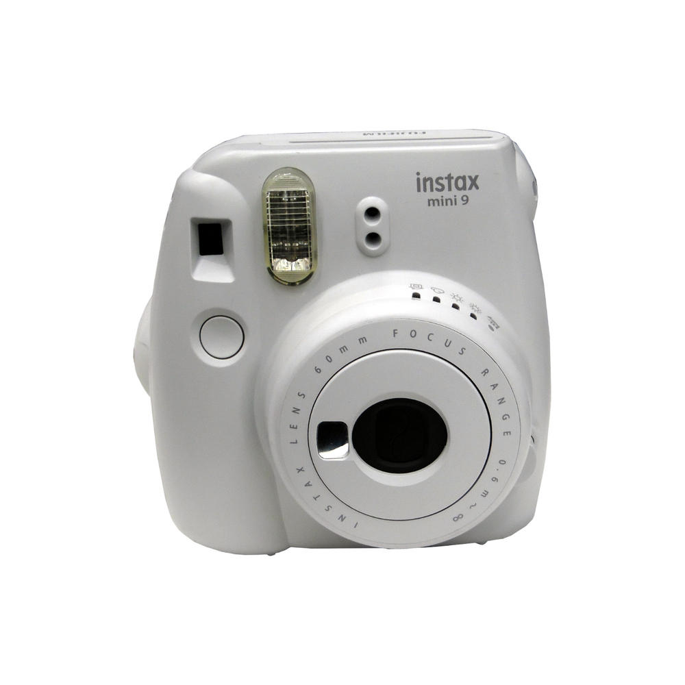 Fujifilm Instax Mini 9 Smoky White Camera Grade C+