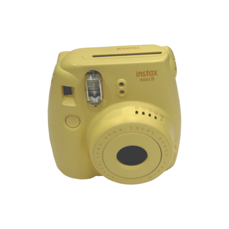 Fujifilm Instax Mini 8 Yellow Instant Camera Grade B+