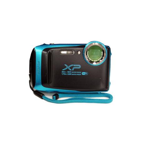 Fujifilm Finepix XP130 Rugged Waterproof 16.4MP Digital Camera Blue Grade B-
