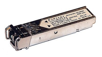 HP A6515A 2G FC SFP 850nm GBIC FTRJ-8519-7-2.5 Transceiver Thumbnail 1