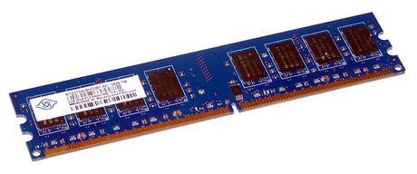Nanya NT2GT64U8HD0BY-AD (2GB DDR2 PC2-6400U 800MHz DIMM 240-pin) Memory Module
