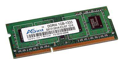 ASint SSY3128M8-EDJEF (1GB DDR3 PC3-12800S 1333MHz SO DIMM 204-pin) RAM Module