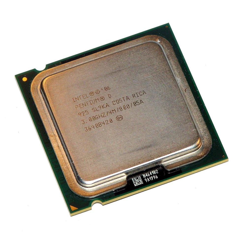 Intel HH80553PG0804MN 3.0GHz Pentium D 925 Socket T LGA775 Processor SL9KA