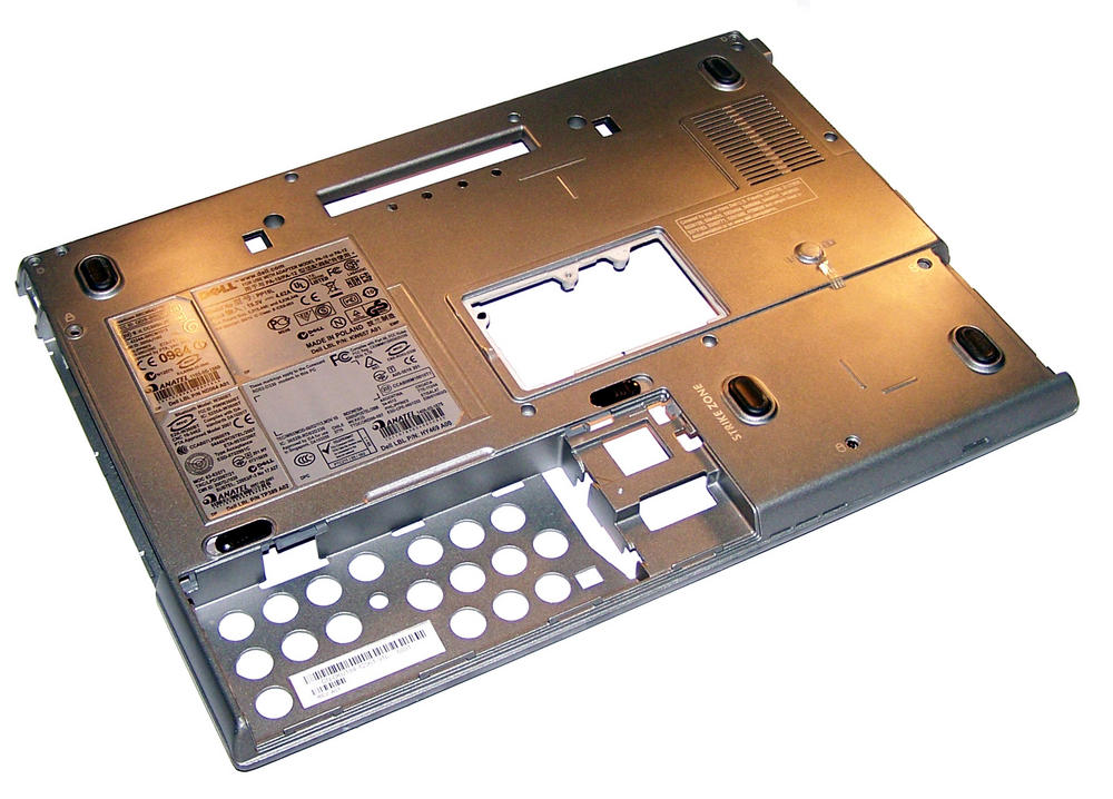 Dell KU190 Latitude D630 Bottom Chassis Base | 0KU190 Thumbnail 1
