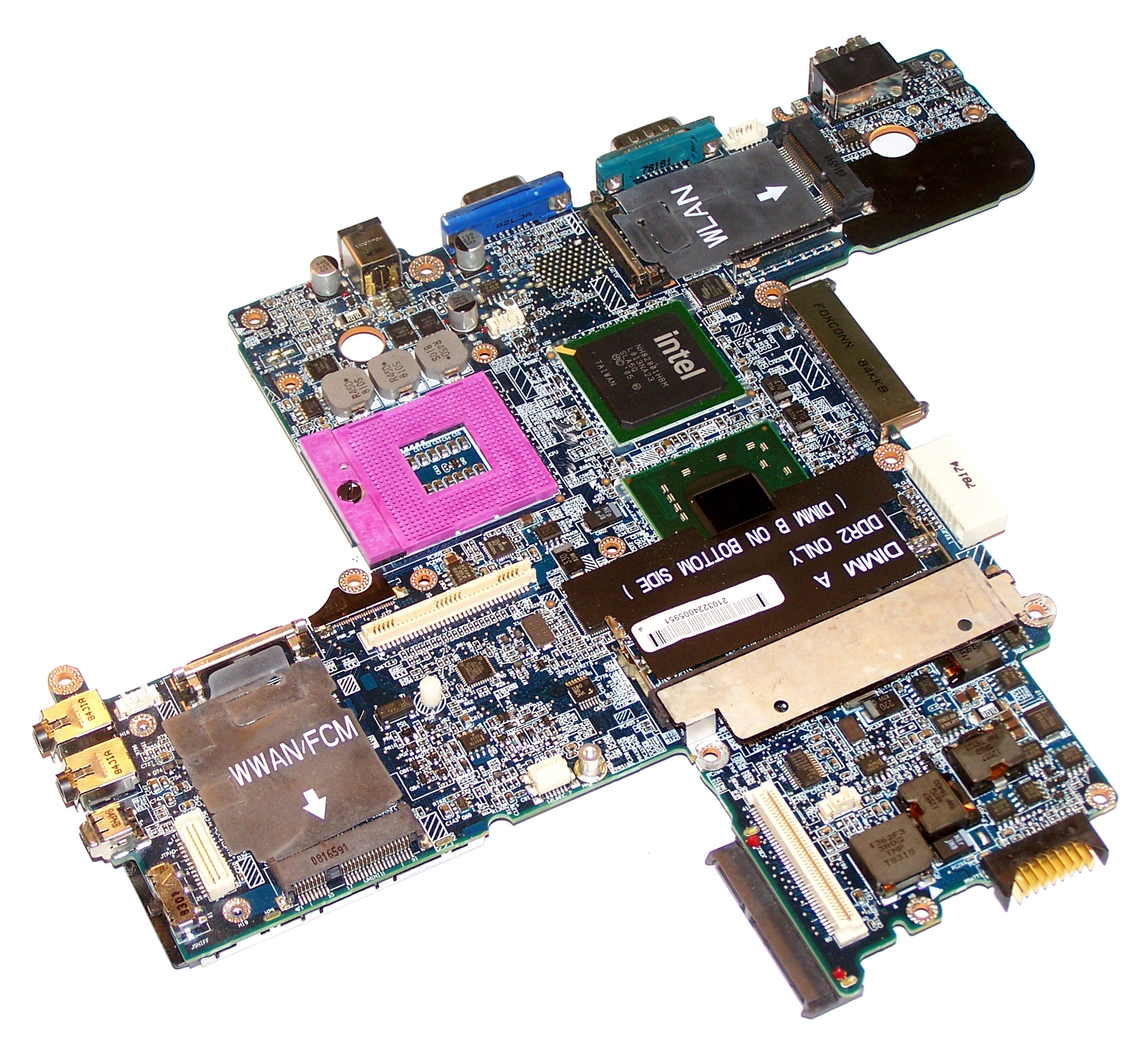 Dell Latitude D630 Motherboard Intel Video DT781