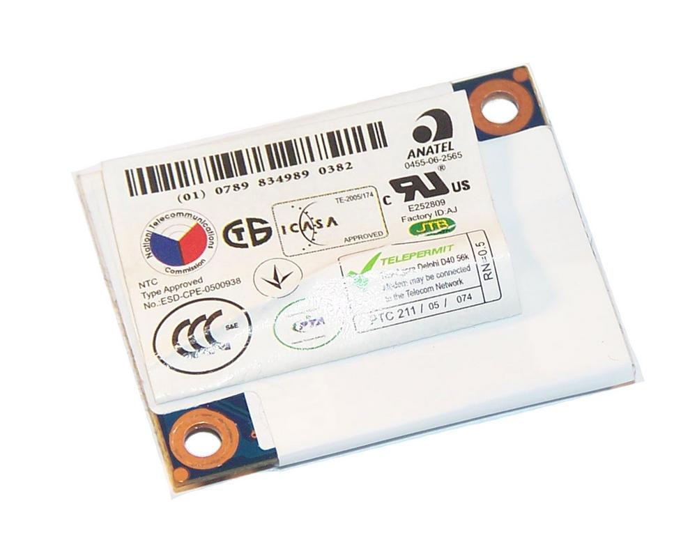 HP PK010001E00 EliteBook 2530p Internal MDC1.5 56K Modem Card SPS | 461750-001 Thumbnail 2