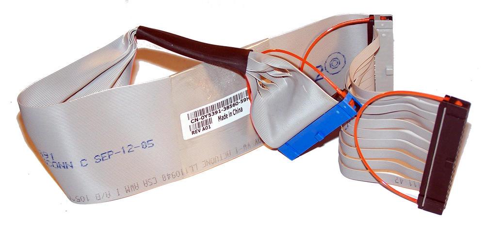 Dell Y5391 OptiPlex GX520 GX620 DCSM 40-Pin ATA Optical Drive Cable | 0Y5391