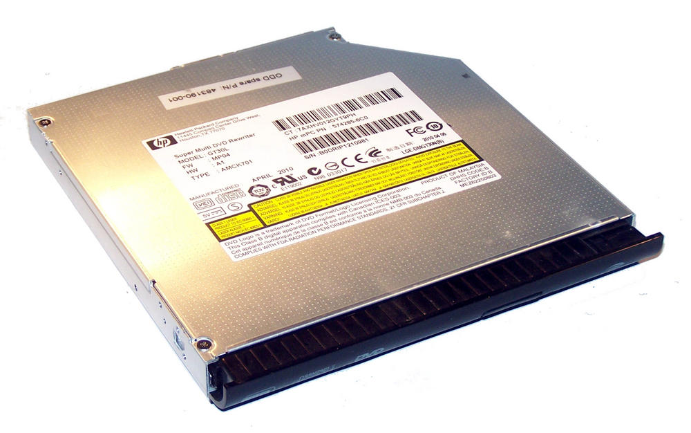 HP 574285-6C0 EliteBook 6930p DVD+R DL Drive GT30L | SPS 483190-001