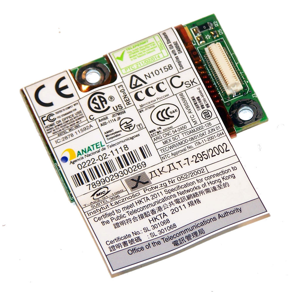 IBM 91P7656 ThinkPad R40 T41 56K Modem Card | FRU 91P7657