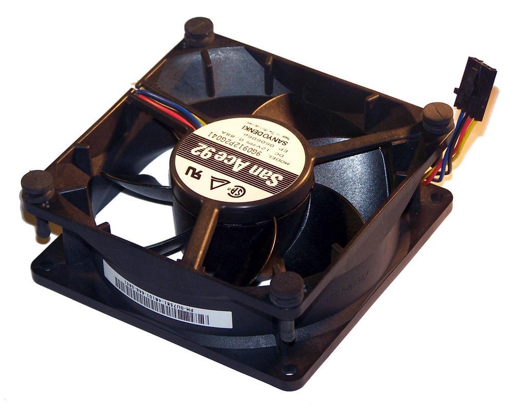 Dell U7581 OptiPlex GX620 Desktop DCNE 12VDC 0.88A 4-wire Fan | 9G0912P2G041 Thumbnail 1