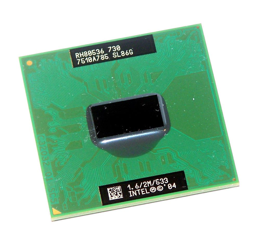 Intel RH80536GE0252M Pentium M 730 1.60GHz Socket 479 Processor SL86G