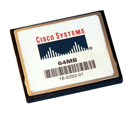 Cisco 16-2252-01 64MB Compact Flash CF Card 7304-I/O-CFM-64M