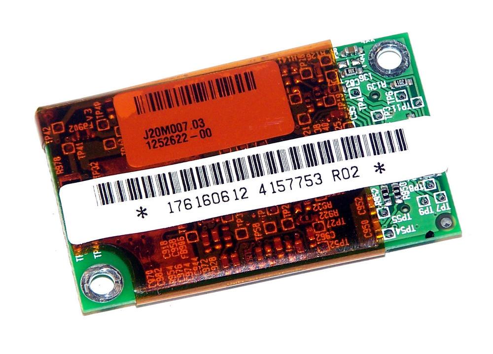 Sony 1-761-606-12 Vaio PCG-FR Internal 56K Modem Card RD01-D480