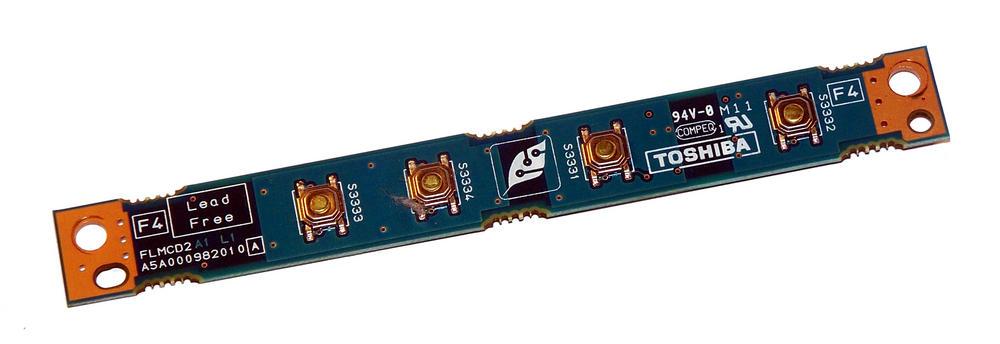 Toshiba A5A000982010 FLMCD2 Satellite Pro A40 A45 Button Board