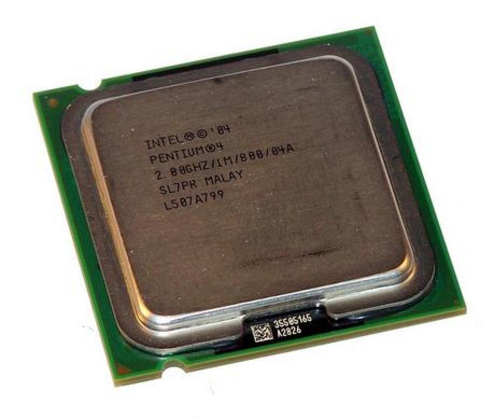 Intel JM80547PG0721M 2.80GHz Pentium 4 520J Socket T LGA775 Processor SL7PR