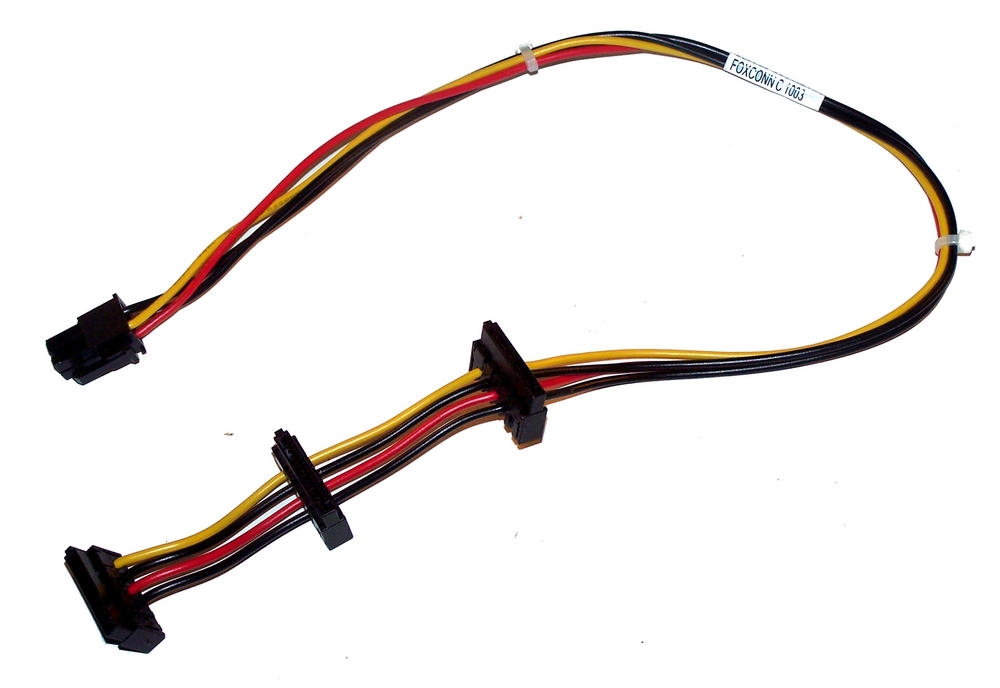 HP 577798-001 8000 8100 8200 Elite CMT 3X SATA Power Cable