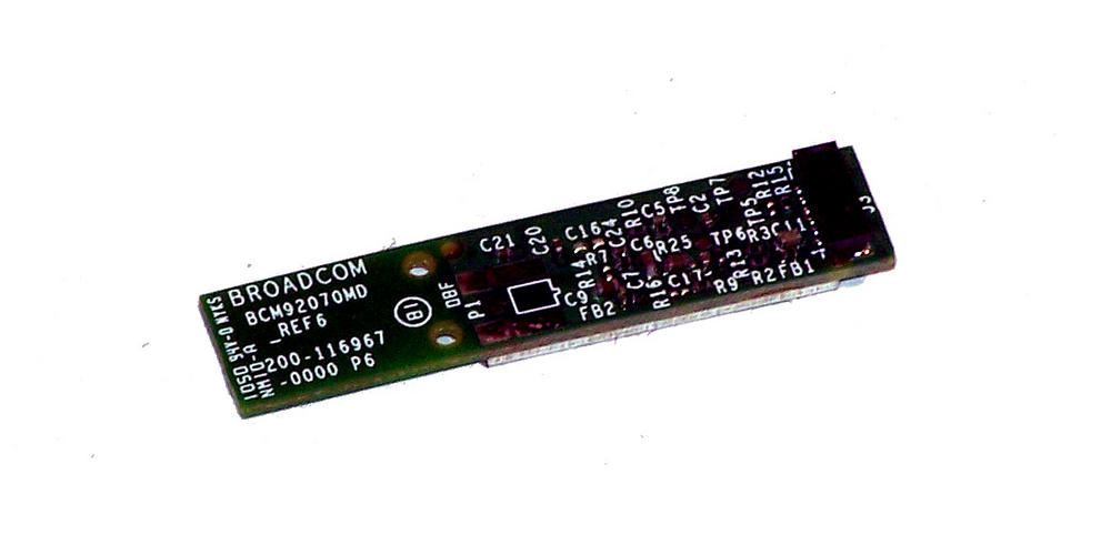 HP 537921-001 Broadcom Bluetooth Module for Compaq 610 EliteBook QDS-BRCM1043 Thumbnail 1