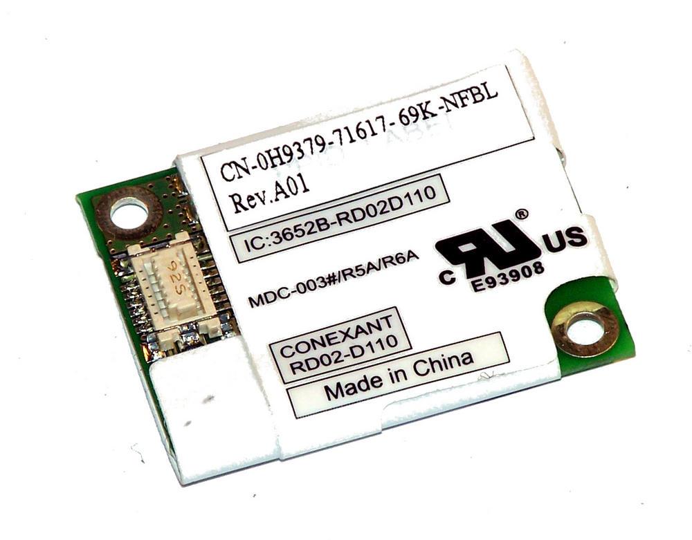 Dell H9379 Inspiron 6400 Latitude D620 Internal 56K Modem Card RD02-D110
