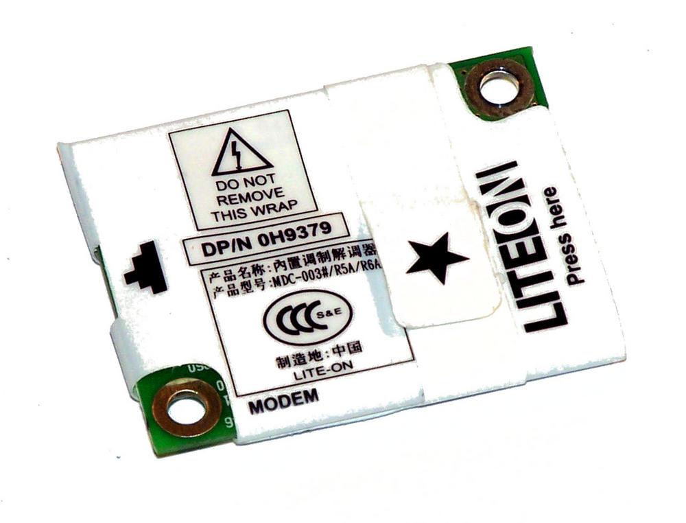 Dell H9379 Inspiron 6400 Latitude D620 Internal 56K Modem Card RD02-D110 Thumbnail 2