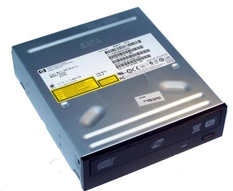 HP 575781-500 Black Bezel SATA H/H DVD DL Recorder Drive | GH40L SPS 581600-001