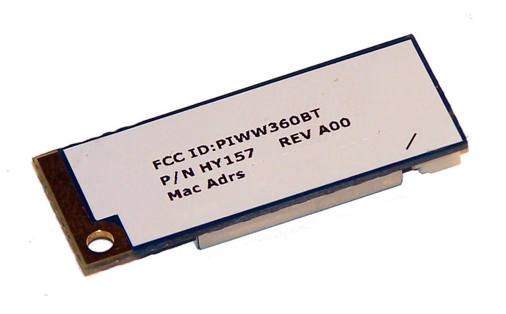 Dell HY157 Latitude D610 D620 D630 D631 D810 Truemobile 360 Bluetooth Module