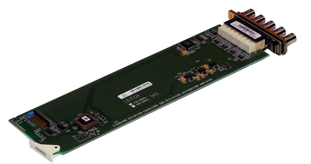 Leitch VSE-6800+ Serial Digital Video Distribution Amplifier Card | BMH Backplan