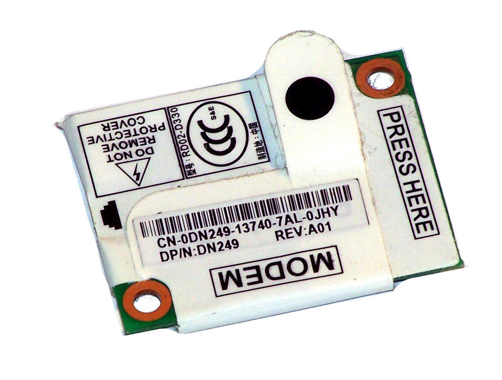 Dell DN249 Inspiron 1520 Latitude D620 Internal 56K Modem Card | 0DN249
