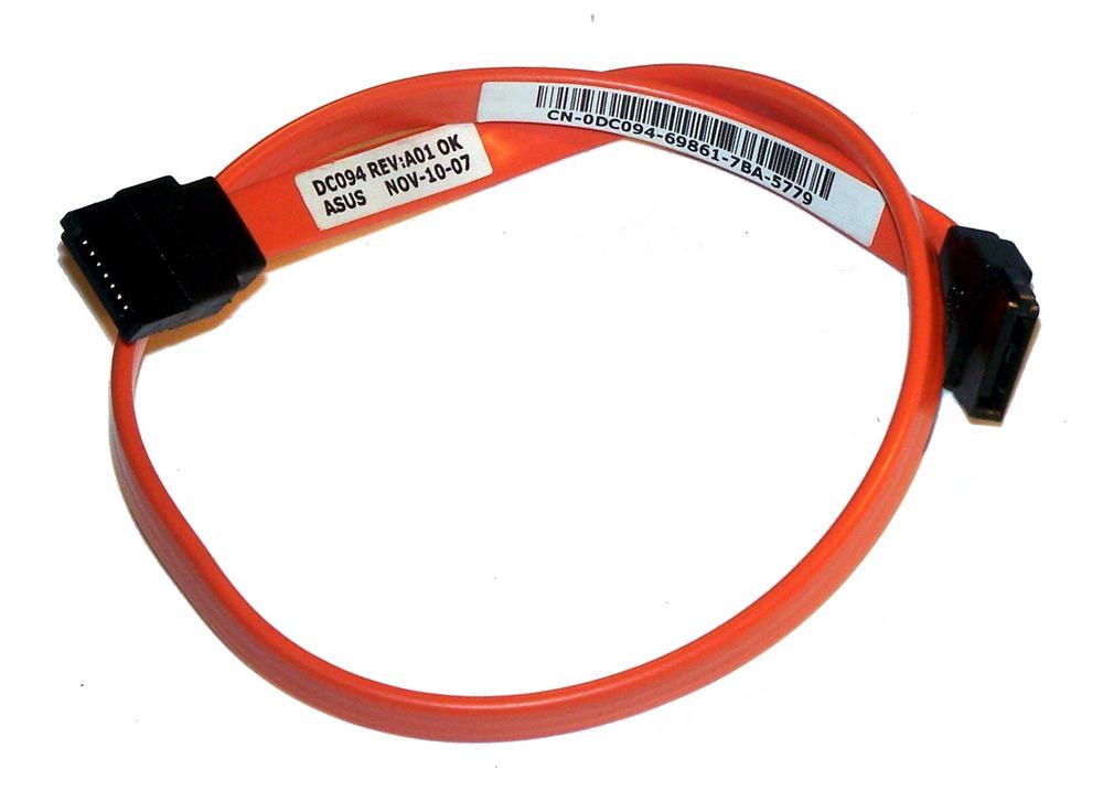 Dell DC094 Orange 34cm SATA Straight to Straight Cable | 0DC094