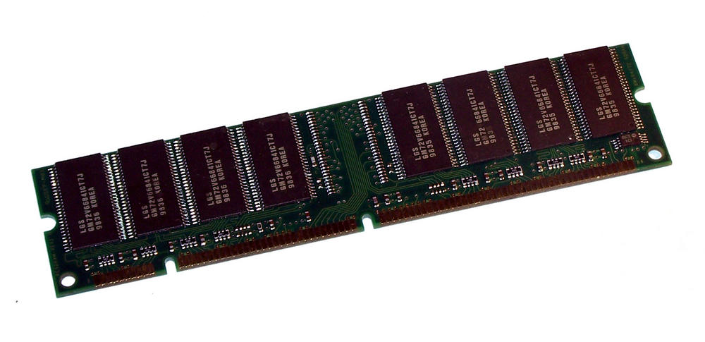 LG GMM2649233CTG-7J (64MB SDRAM PC100U 100MHz DIMM 168-pin) Memory Module