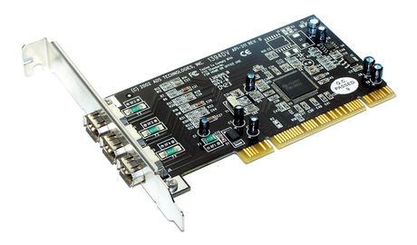 ADS API-311 Rev B 1394DV 3-Port PCI Firewire Controller Card | Standard Profile Thumbnail 1