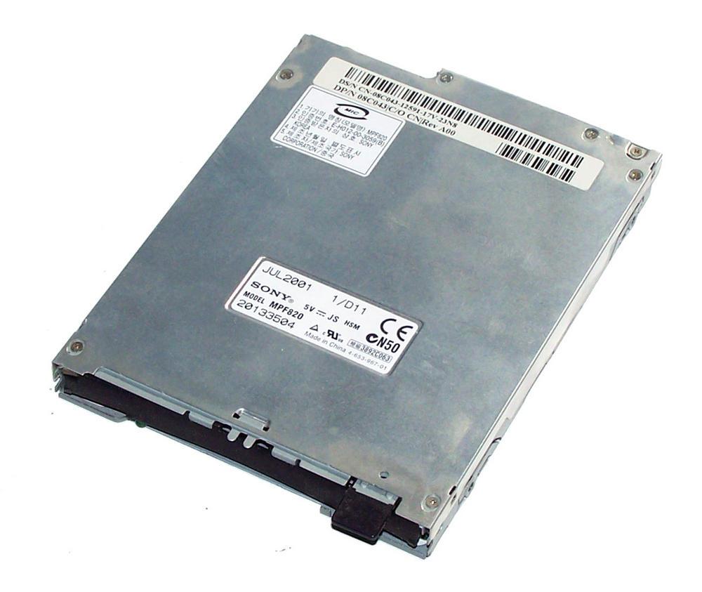 Dell 8C043 Slimline 1.44MB Floppy Drive No Bezel Sony MPF820 08C043
