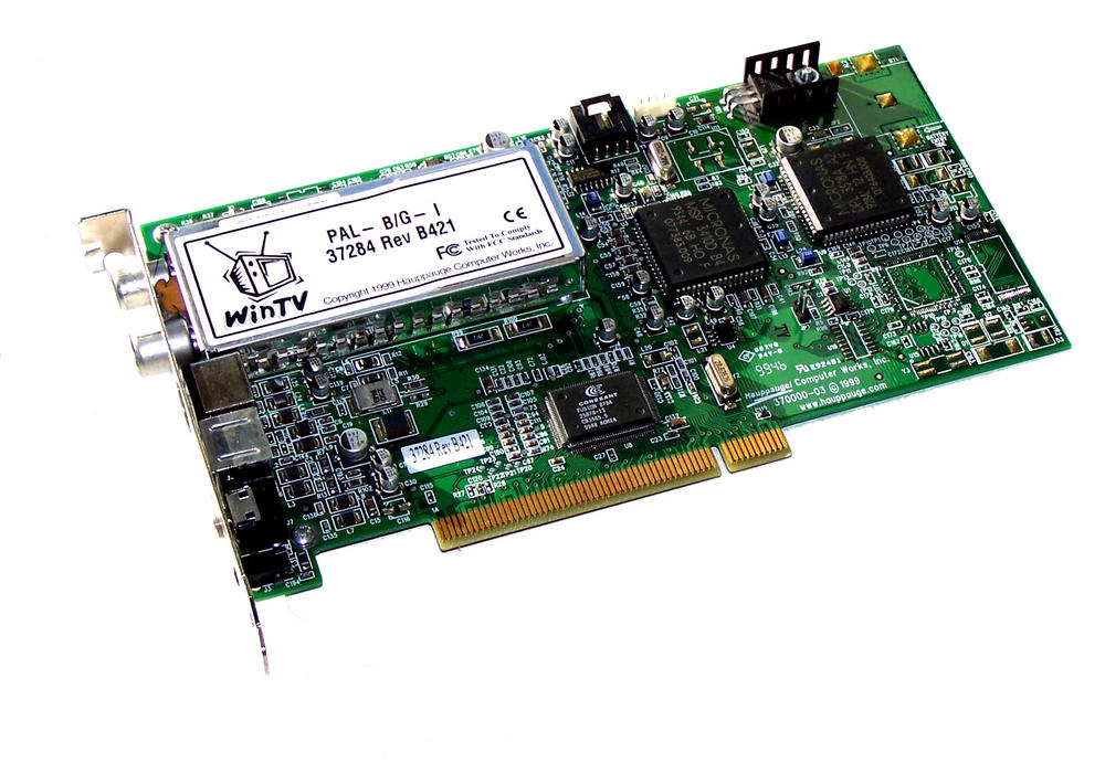 Hauppauge 37284 Rev B421 WinTV PAL B/G-I PCI Analog TV/Capture Card