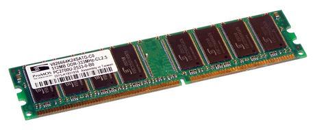 ProMOS V826664K24SATG-C0 (512MB DDR PC2700U 333MHz DIMM 184-pin) Memory Module