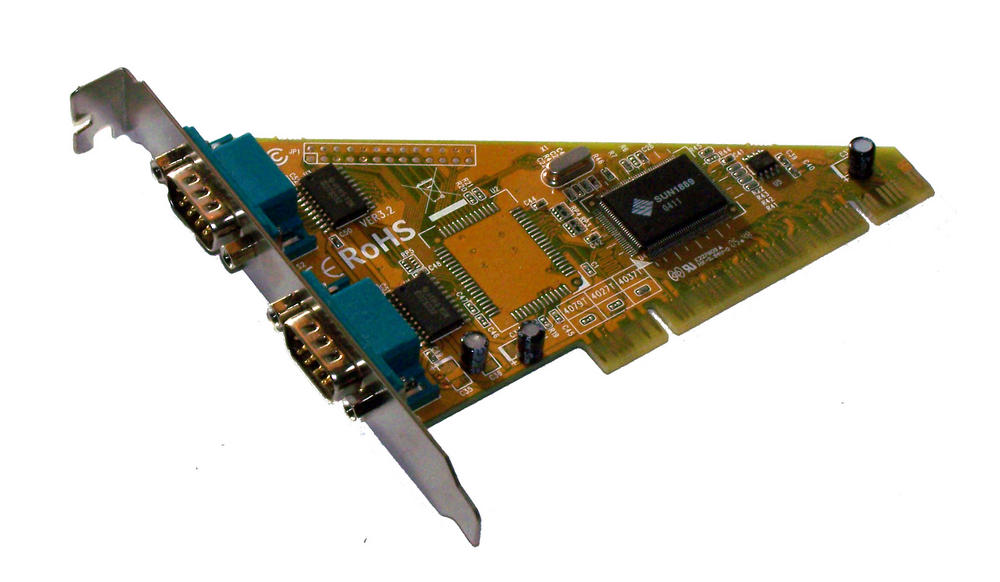 Lindy 70585 PCI 2-Port RS232 Serial Card | Ver 3.2