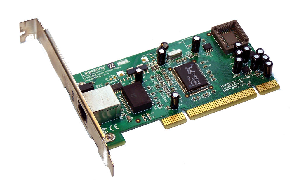 Linksys GGM1670 1-Port 10/100/1000 EG1032 GbE Ethernet Card |Std Profile Bracket