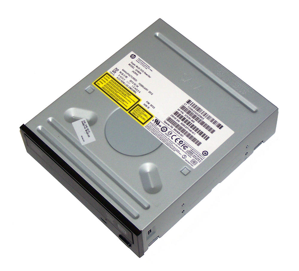 HP 575781-800 Black Bezel SATA H/H DVD DL Recorder Drive | GH80N SPS 660408-001