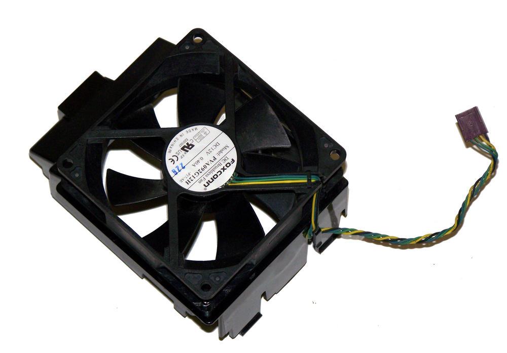 HP 645327-001 8200 Elite SFF 12VDC 0.40A CPU Fan   Foxconn PVA092G12H Thumbnail 1