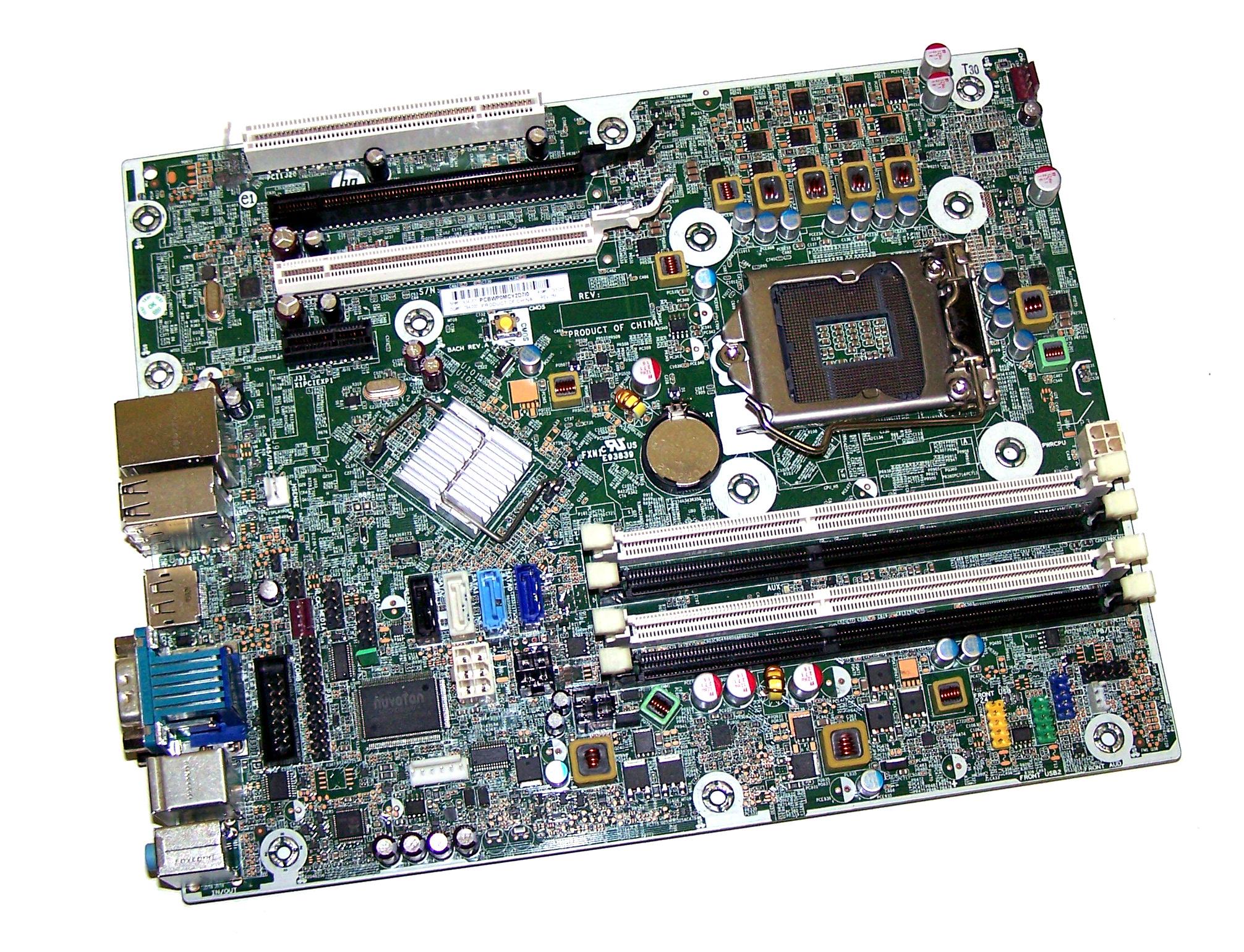 HP Compaq Elite 8200 Slim SFF Mainboard 611834-001