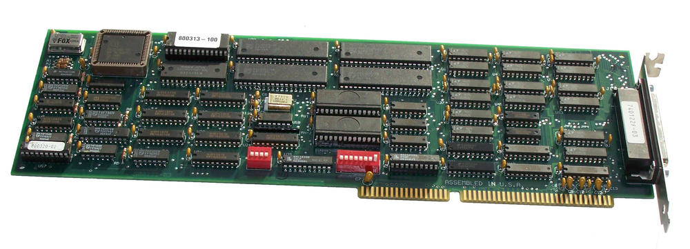 SGT 740122F-03 16-Bit ISA Multi Serial Card 500122-03