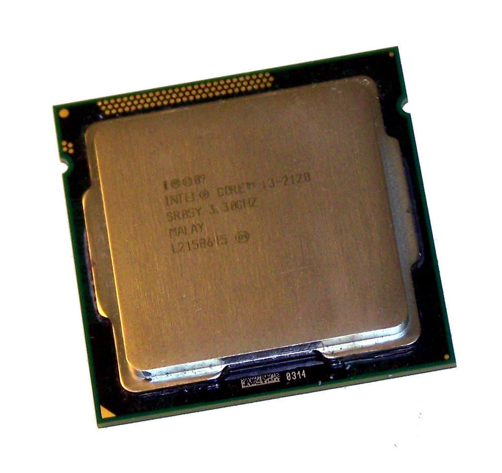 Intel CM8062301044204 Core i3-2120 3.3GHz Socket H2 LGA1155 Processor SR05Y