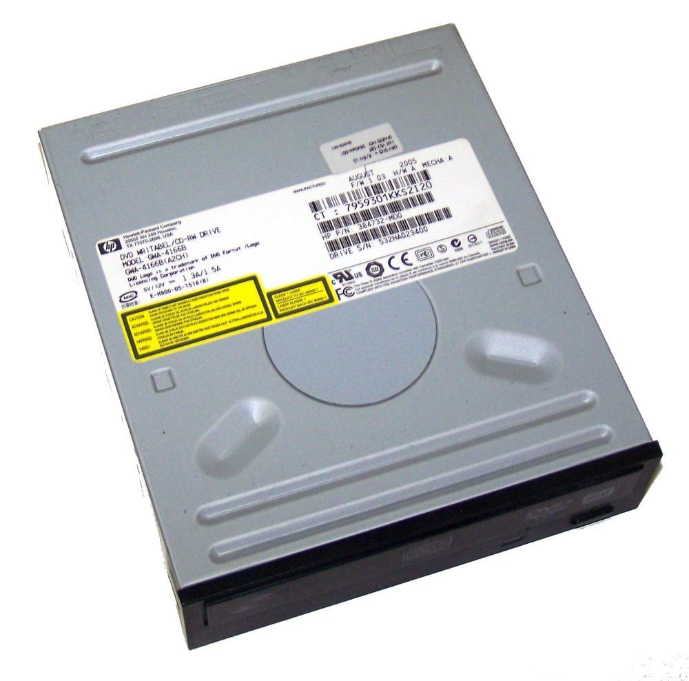 HP 384732-MD0 Black Bezel ATA H/H DVD-RW D/L Drive GWA-4166B | SPS 384044-001