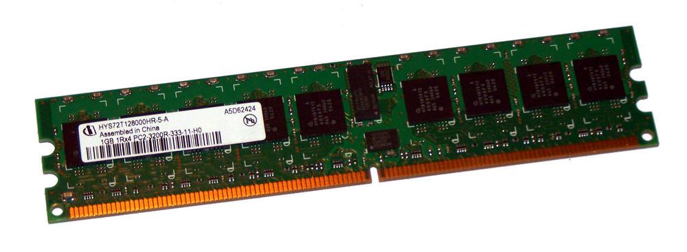 HP 345113-951 (1GB PC2-3200R ECC Reg Server 240-Pin DIMM) | HYS72T128000HR-5-A