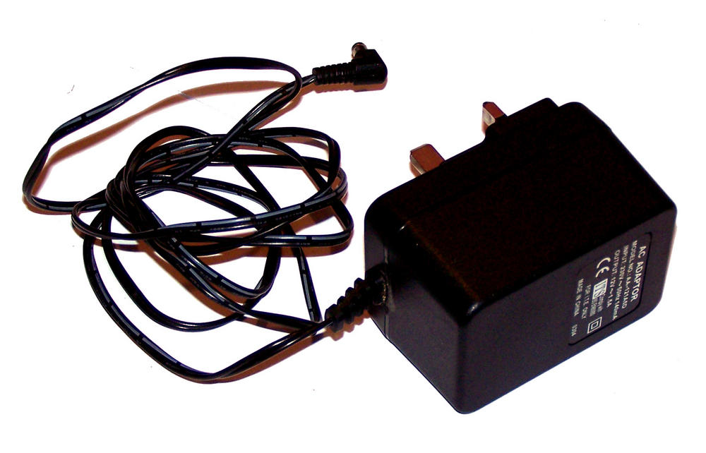 OEM AA-121A5D 12VAC 1.5A UK AC Adapter with Barrel Connector