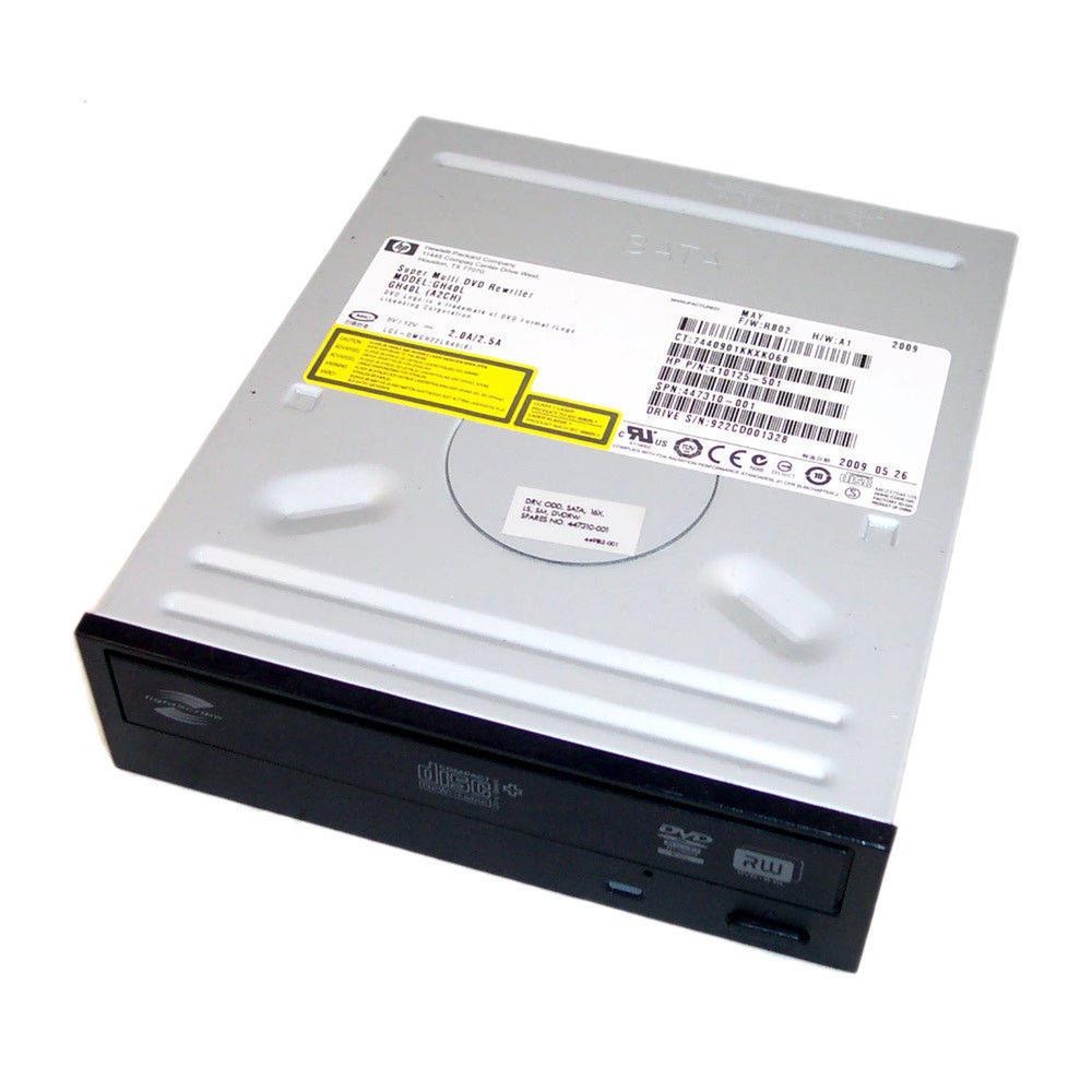 HP 410125-501 Black Bezel SATA H/H DVD-RW D/L Drive GH40L   SPS 447310-001