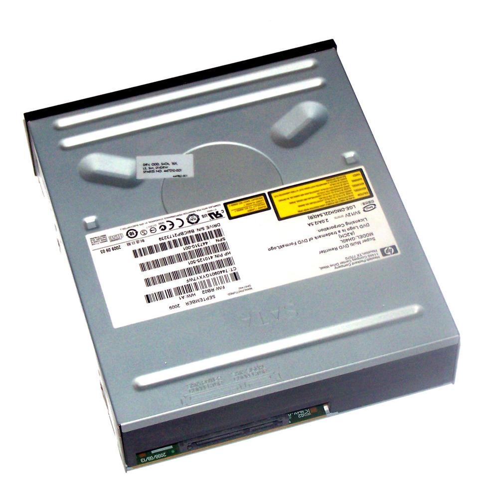 HP 410125-501 Black Bezel SATA H/H DVD-RW D/L Drive GH40L   SPS 447310-001 Thumbnail 2
