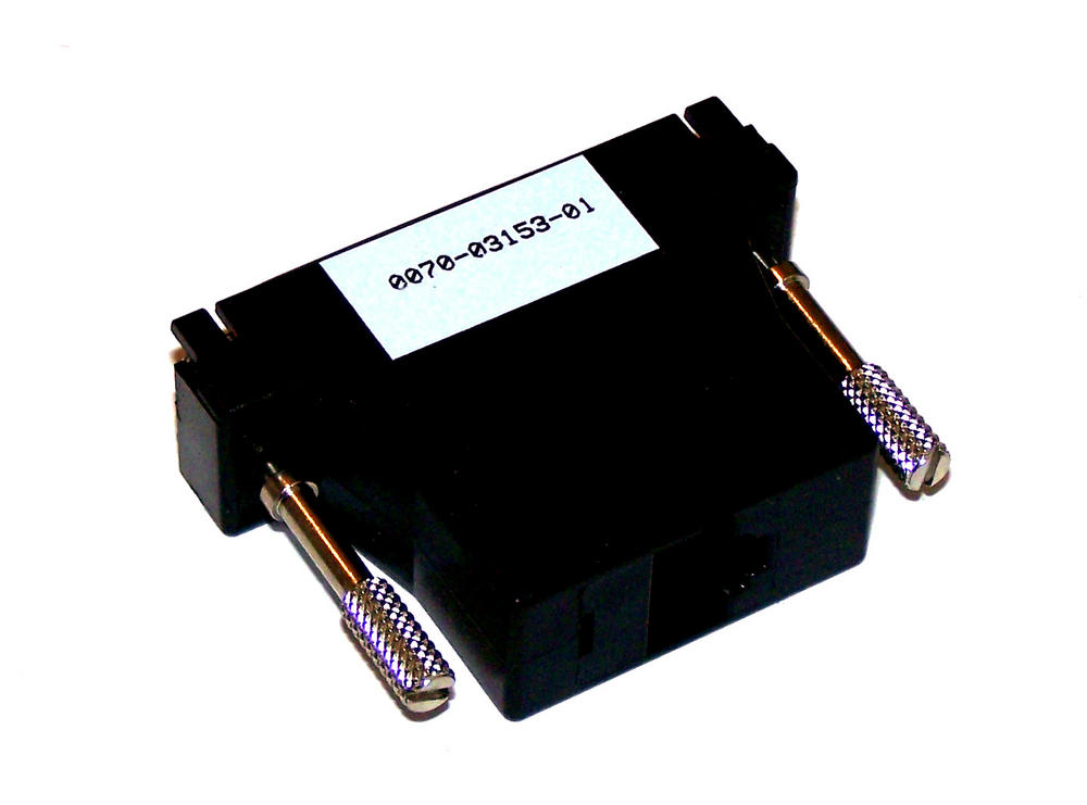Avid 0070-03153-01 DB25F to RJ45 Serial Cable Adapter Thumbnail 1