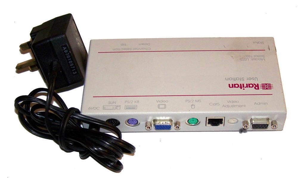 Raritan USTS Z-Series PS/2 KVM User Station Thumbnail 2